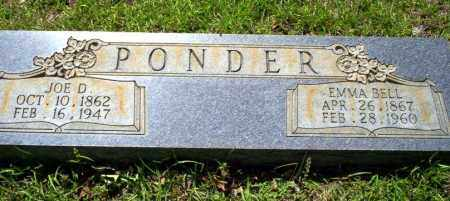 BELL PONDER, EMMA - Ouachita County, Arkansas | EMMA BELL PONDER - Arkansas Gravestone Photos