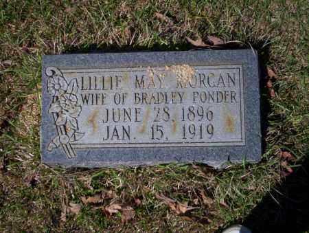PONDER, LILLIE MAY - Ouachita County, Arkansas | LILLIE MAY PONDER - Arkansas Gravestone Photos
