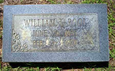 POOL, WILLIAM T. - Ouachita County, Arkansas | WILLIAM T. POOL - Arkansas Gravestone Photos