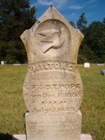 POPE, MILTON C - Ouachita County, Arkansas | MILTON C POPE - Arkansas Gravestone Photos