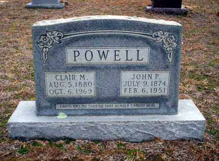 POWELL, CLAIR M - Ouachita County, Arkansas | CLAIR M POWELL - Arkansas Gravestone Photos