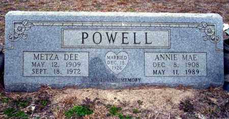 POWELL, METZA DEE - Ouachita County, Arkansas | METZA DEE POWELL - Arkansas Gravestone Photos