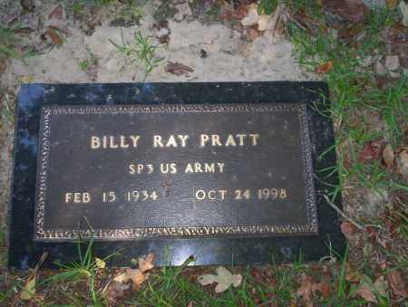 PRATT  (VETERAN), BILLY RAY - Ouachita County, Arkansas | BILLY RAY PRATT  (VETERAN) - Arkansas Gravestone Photos