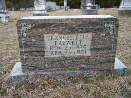 PREWETT, FRANCES ELLA - Ouachita County, Arkansas | FRANCES ELLA PREWETT - Arkansas Gravestone Photos