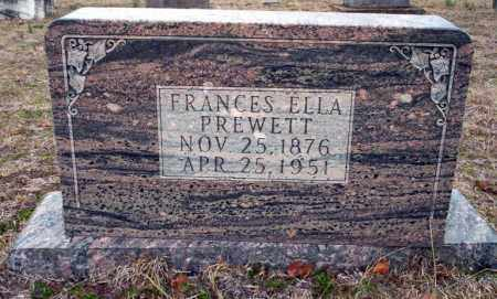 PREWETT, FRANCES ELLA - Ouachita County, Arkansas | FRANCES ELLA PREWETT - Arkansas Gravestone Photos
