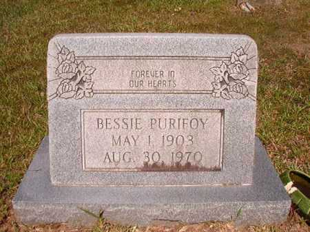 PURIFOY, BESSIE - Ouachita County, Arkansas | BESSIE PURIFOY - Arkansas Gravestone Photos