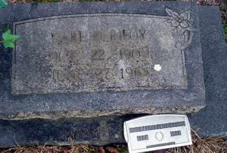 PURIFOY, CARL - Ouachita County, Arkansas | CARL PURIFOY - Arkansas Gravestone Photos