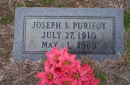 PURIFOY, JOSEPH S - Ouachita County, Arkansas | JOSEPH S PURIFOY - Arkansas Gravestone Photos