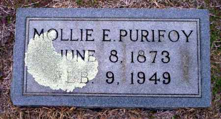 PURIFOY, MOLLIE E - Ouachita County, Arkansas | MOLLIE E PURIFOY - Arkansas Gravestone Photos