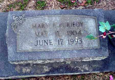 PURIFOY, MARY E - Ouachita County, Arkansas | MARY E PURIFOY - Arkansas Gravestone Photos