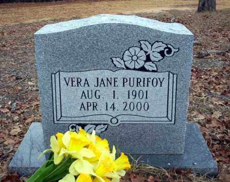PURIFOY, VERA JANE - Ouachita County, Arkansas | VERA JANE PURIFOY - Arkansas Gravestone Photos