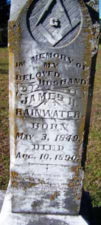 RAINWATER, JAMES H - Ouachita County, Arkansas | JAMES H RAINWATER - Arkansas Gravestone Photos