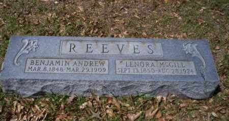 MCGILL REEVES, LENORA - Ouachita County, Arkansas | LENORA MCGILL REEVES - Arkansas Gravestone Photos