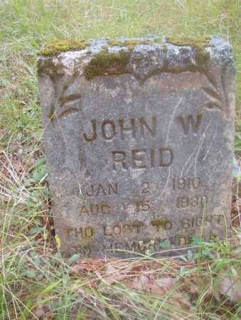 REID, JOHN W - Ouachita County, Arkansas | JOHN W REID - Arkansas Gravestone Photos