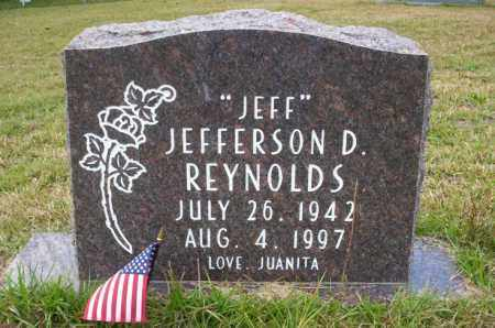 "REYNOLDS, JEFFERSON D ""JEFF"" - Ouachita County, Arkansas 