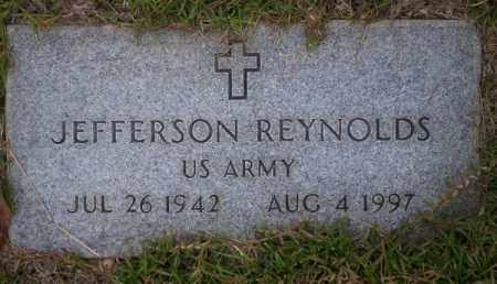 REYNOLDS (VETERAN), JEFFERSON - Ouachita County, Arkansas | JEFFERSON REYNOLDS (VETERAN) - Arkansas Gravestone Photos