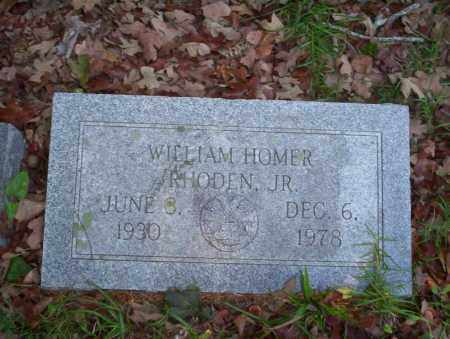 RHODEN JR., WILLIAM HOMER - Ouachita County, Arkansas | WILLIAM HOMER RHODEN JR. - Arkansas Gravestone Photos