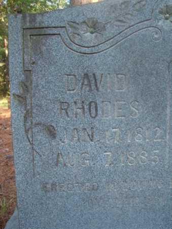 RHODES, DAVID - Ouachita County, Arkansas | DAVID RHODES - Arkansas Gravestone Photos