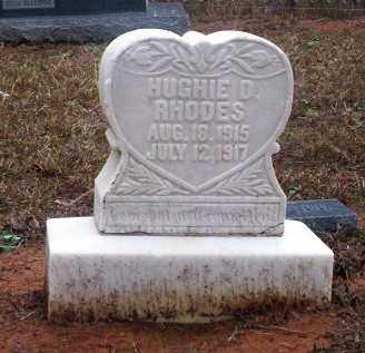 RHODES, HUGHIE D - Ouachita County, Arkansas | HUGHIE D RHODES - Arkansas Gravestone Photos