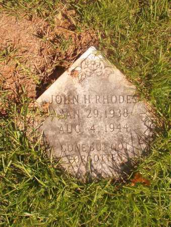 RHODES, JOHN H - Ouachita County, Arkansas   JOHN H RHODES - Arkansas Gravestone Photos
