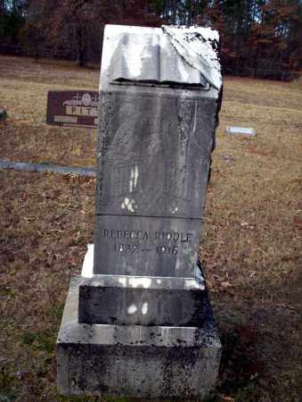 RIDDLE, REBECCA - Ouachita County, Arkansas | REBECCA RIDDLE - Arkansas Gravestone Photos
