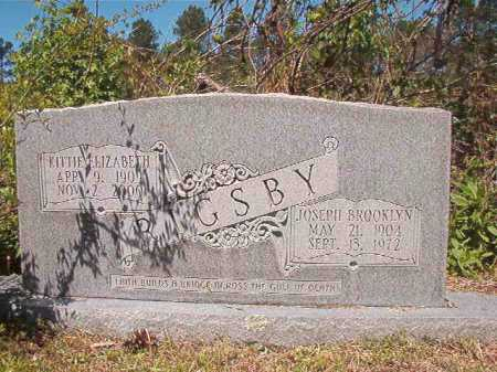RIGSBY, KITTIE ELIZABETH - Ouachita County, Arkansas | KITTIE ELIZABETH RIGSBY - Arkansas Gravestone Photos