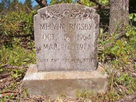 RIGSBY, MELVIN - Ouachita County, Arkansas | MELVIN RIGSBY - Arkansas Gravestone Photos
