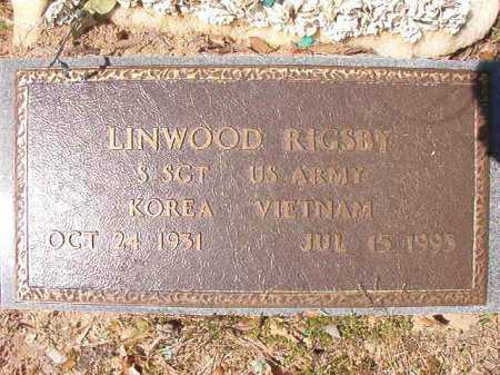 RIGSBY (VETERAN 2 WARS), LINWOOD - Ouachita County, Arkansas | LINWOOD RIGSBY (VETERAN 2 WARS) - Arkansas Gravestone Photos