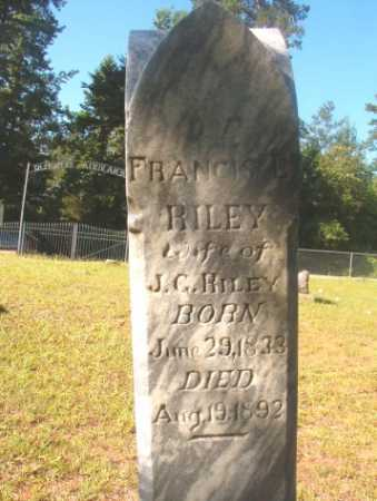RILEY, FRANCIS L - Ouachita County, Arkansas | FRANCIS L RILEY - Arkansas Gravestone Photos