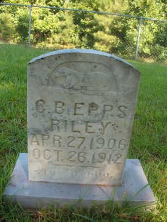 RILEY, CHALRES  B EPPS - Ouachita County, Arkansas | CHALRES  B EPPS RILEY - Arkansas Gravestone Photos