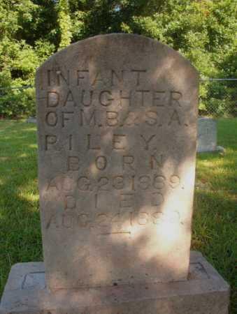 RILEY, INFANT DAUGHTER - Ouachita County, Arkansas   INFANT DAUGHTER RILEY - Arkansas Gravestone Photos