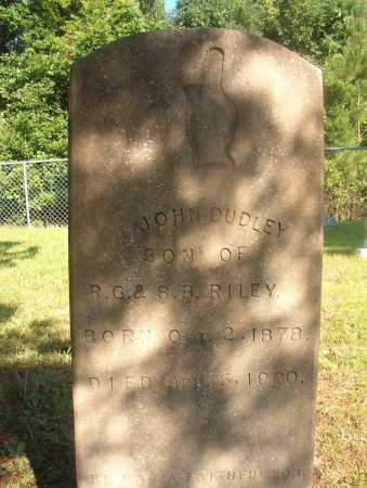 RILEY, JOHN DUDLEY - Ouachita County, Arkansas | JOHN DUDLEY RILEY - Arkansas Gravestone Photos