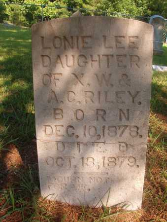 RILEY, LONIE LEE - Ouachita County, Arkansas | LONIE LEE RILEY - Arkansas Gravestone Photos