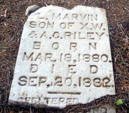 RILEY, L MARVIN - Ouachita County, Arkansas | L MARVIN RILEY - Arkansas Gravestone Photos