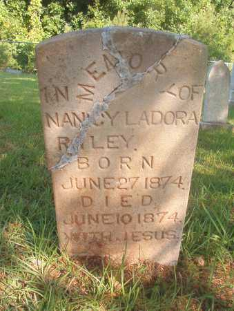 RILEY, NANCY LADORA - Ouachita County, Arkansas | NANCY LADORA RILEY - Arkansas Gravestone Photos