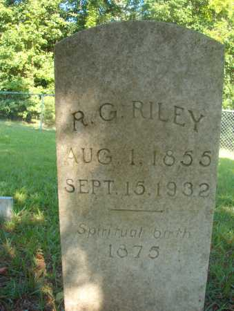 RILEY, R G - Ouachita County, Arkansas | R G RILEY - Arkansas Gravestone Photos