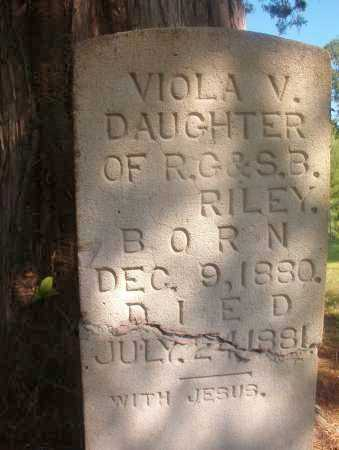 RILEY, VIOLA V - Ouachita County, Arkansas | VIOLA V RILEY - Arkansas Gravestone Photos