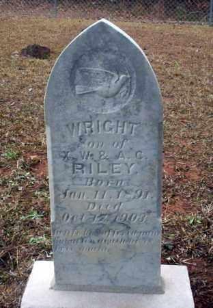 RILEY, WRIGHT - Ouachita County, Arkansas | WRIGHT RILEY - Arkansas Gravestone Photos