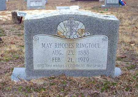 RHODES RINGTOUL, MAY - Ouachita County, Arkansas | MAY RHODES RINGTOUL - Arkansas Gravestone Photos