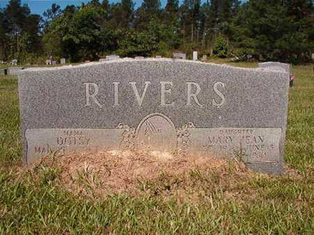 RIVERS, DOTSY - Ouachita County, Arkansas | DOTSY RIVERS - Arkansas Gravestone Photos