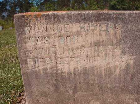 RIVERS, MONROE - Ouachita County, Arkansas | MONROE RIVERS - Arkansas Gravestone Photos