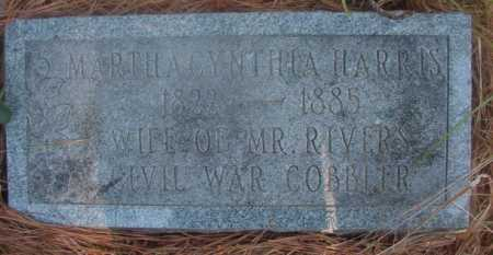 RIVERS, MARTHA CYNTHIA - Ouachita County, Arkansas | MARTHA CYNTHIA RIVERS - Arkansas Gravestone Photos