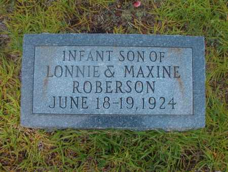 ROBERSON, INFANT SON - Ouachita County, Arkansas | INFANT SON ROBERSON - Arkansas Gravestone Photos