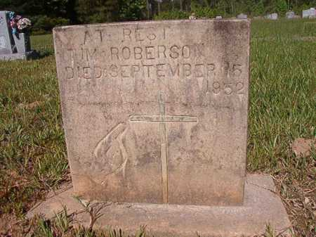 ROBERSON, TIM - Ouachita County, Arkansas | TIM ROBERSON - Arkansas Gravestone Photos