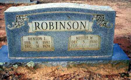 ROBINSON, DENTON L - Ouachita County, Arkansas | DENTON L ROBINSON - Arkansas Gravestone Photos