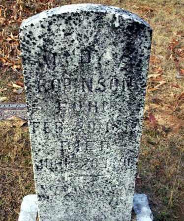 ROBINSON, HARDY G - Ouachita County, Arkansas | HARDY G ROBINSON - Arkansas Gravestone Photos