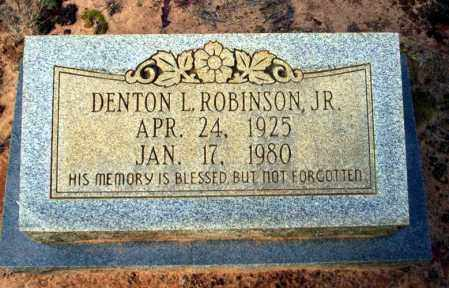 ROBINSON JR., DENTON L - Ouachita County, Arkansas | DENTON L ROBINSON JR. - Arkansas Gravestone Photos