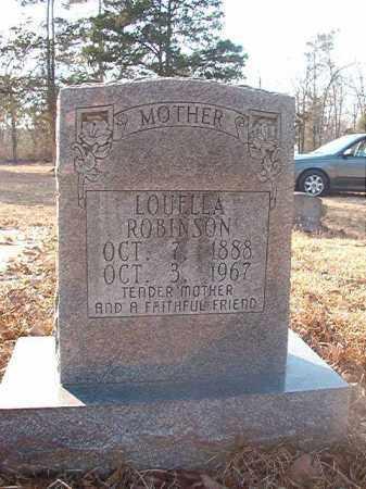 ROBINSON, LOUELLA - Ouachita County, Arkansas | LOUELLA ROBINSON - Arkansas Gravestone Photos