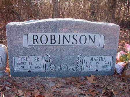 ROBINSON, MARTHA - Ouachita County, Arkansas | MARTHA ROBINSON - Arkansas Gravestone Photos