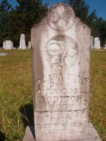 ROBISON, CLARA PURL - Ouachita County, Arkansas | CLARA PURL ROBISON - Arkansas Gravestone Photos